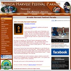 Arvada Harvest Festival Parade