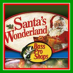 Bass Pro Shops Santa Wonderland